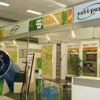 Graphics of an exhibition stand