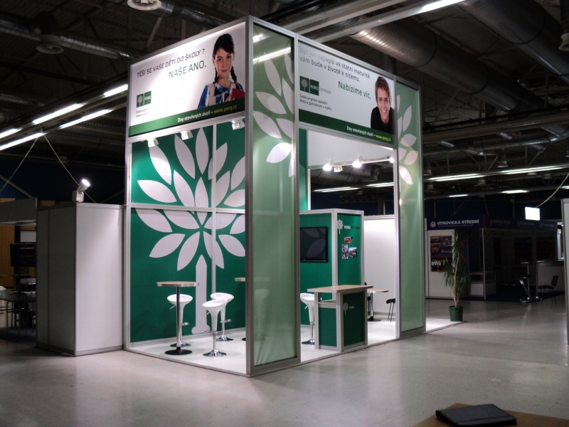 Exhibition Booth Partition : Aivr s r o maxima